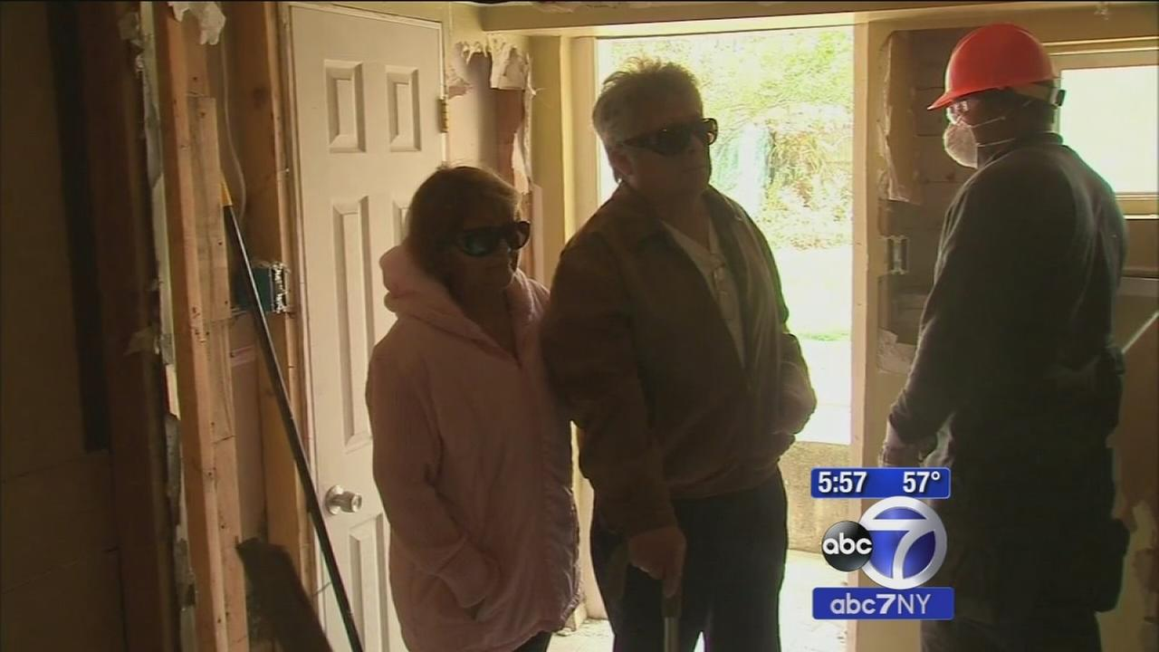 Blind mans Long Island home finally repaired after Superstorm Sandy