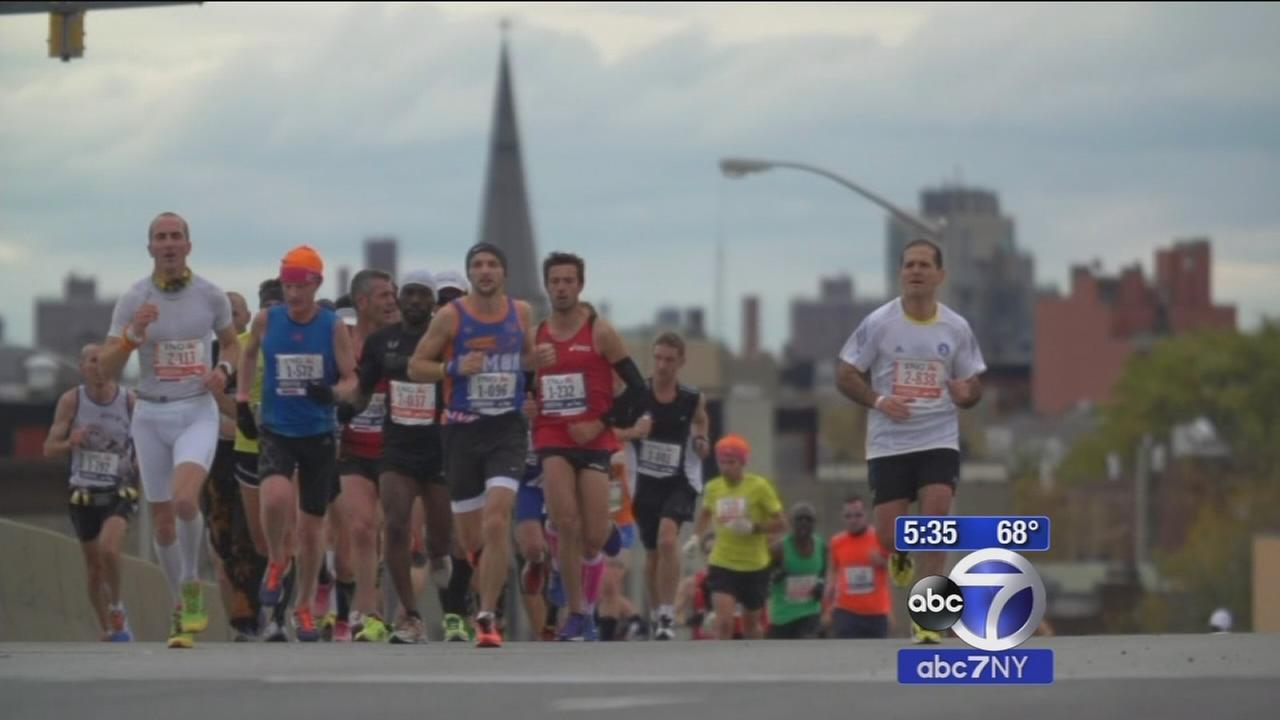 NYC Marathon preparation in Central Park