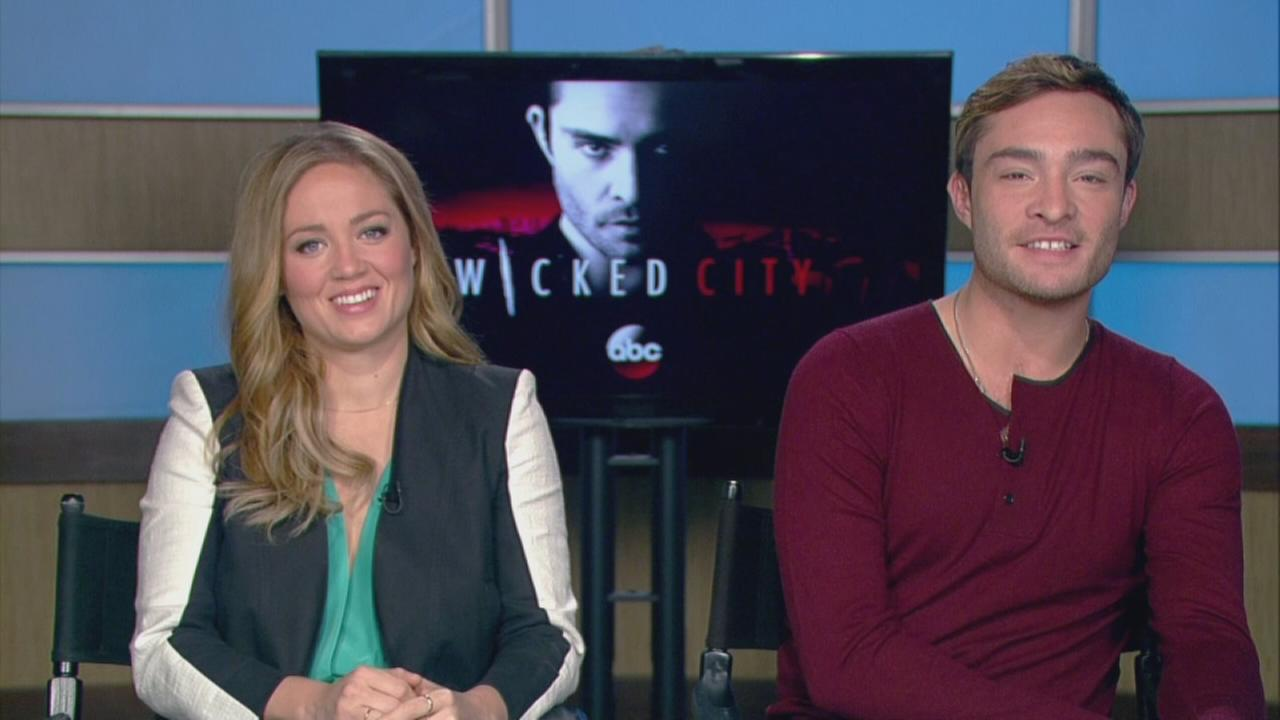 Erika Christensen and Ed Westwick talk about starring in ABCs Wicked City