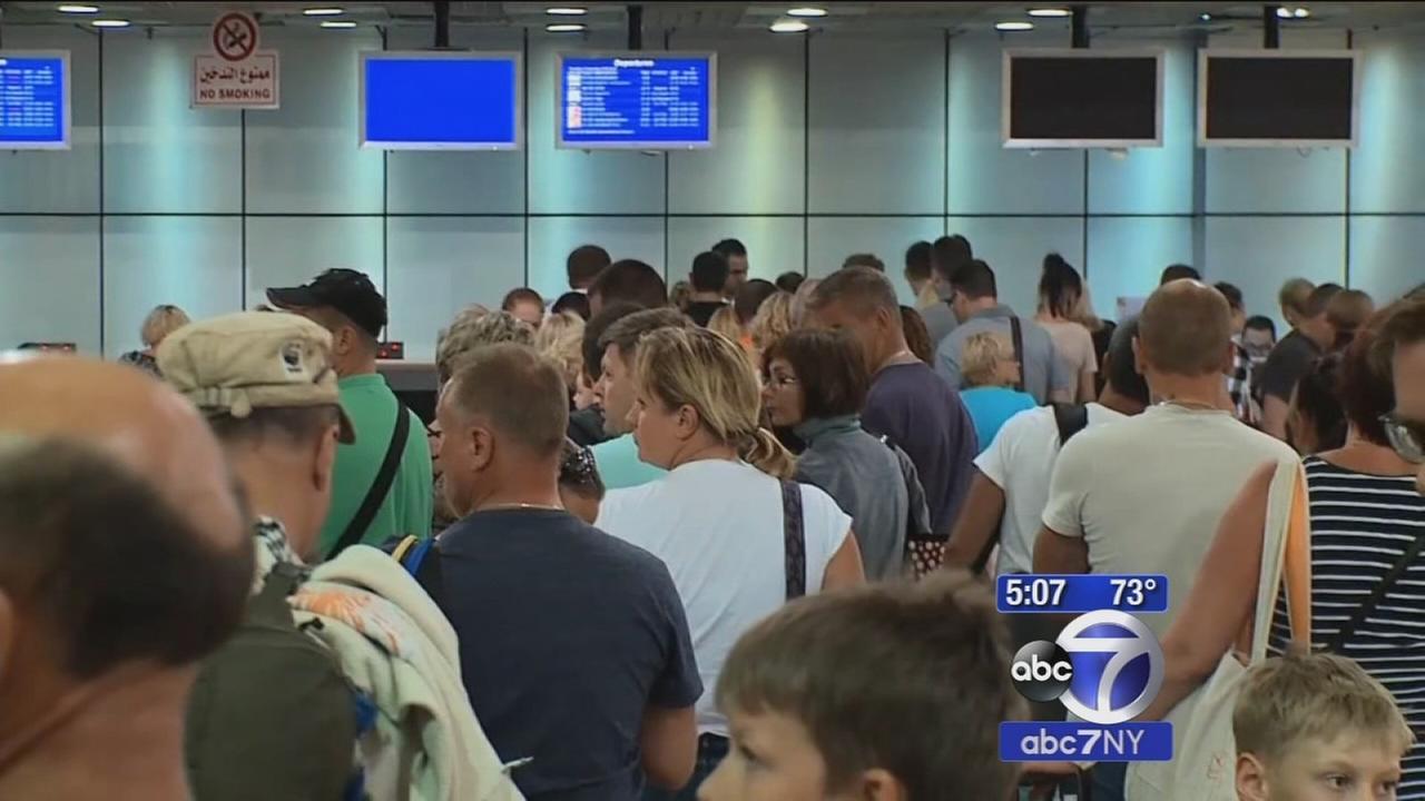 TSA announces security enhancements pending Egypt plane crash investigation