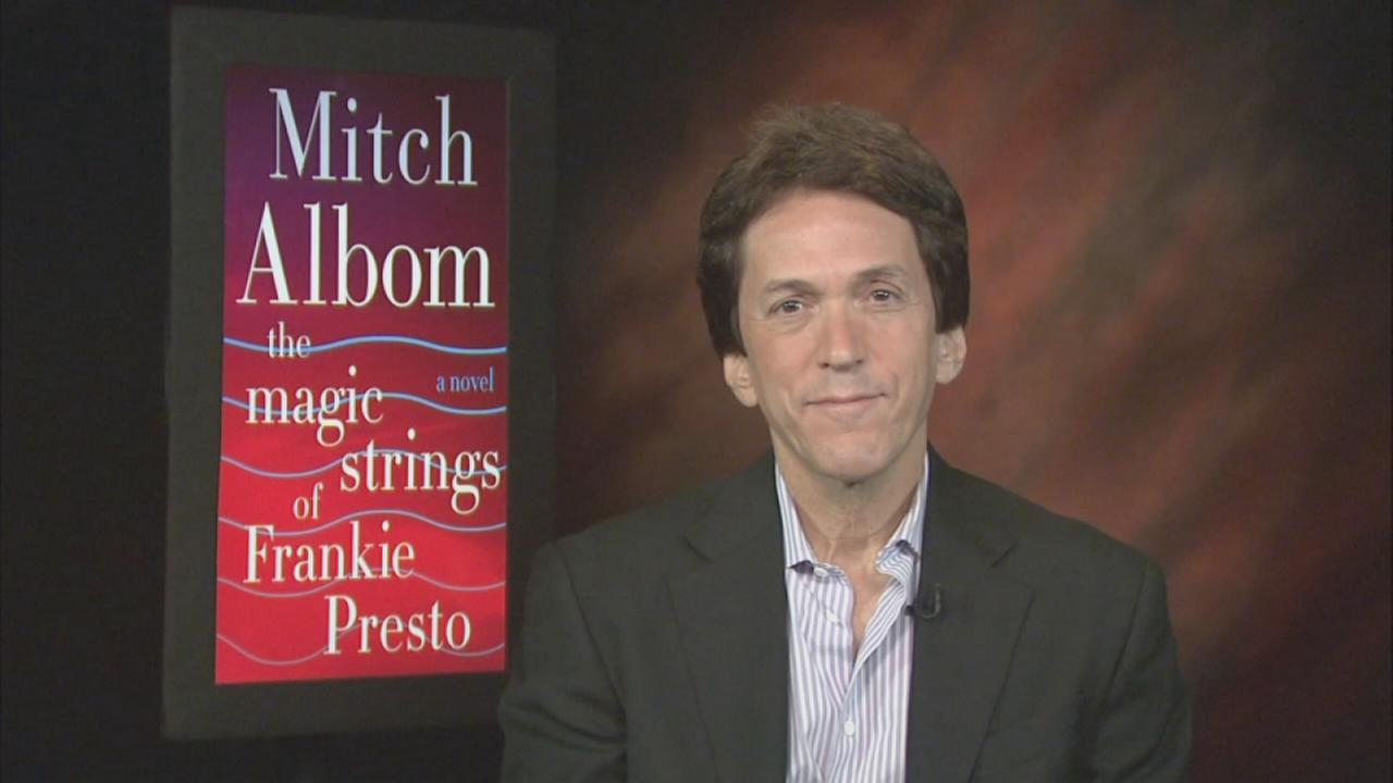Author Mitch Albom talks about his new book The Magic Strings of Frankie Presto