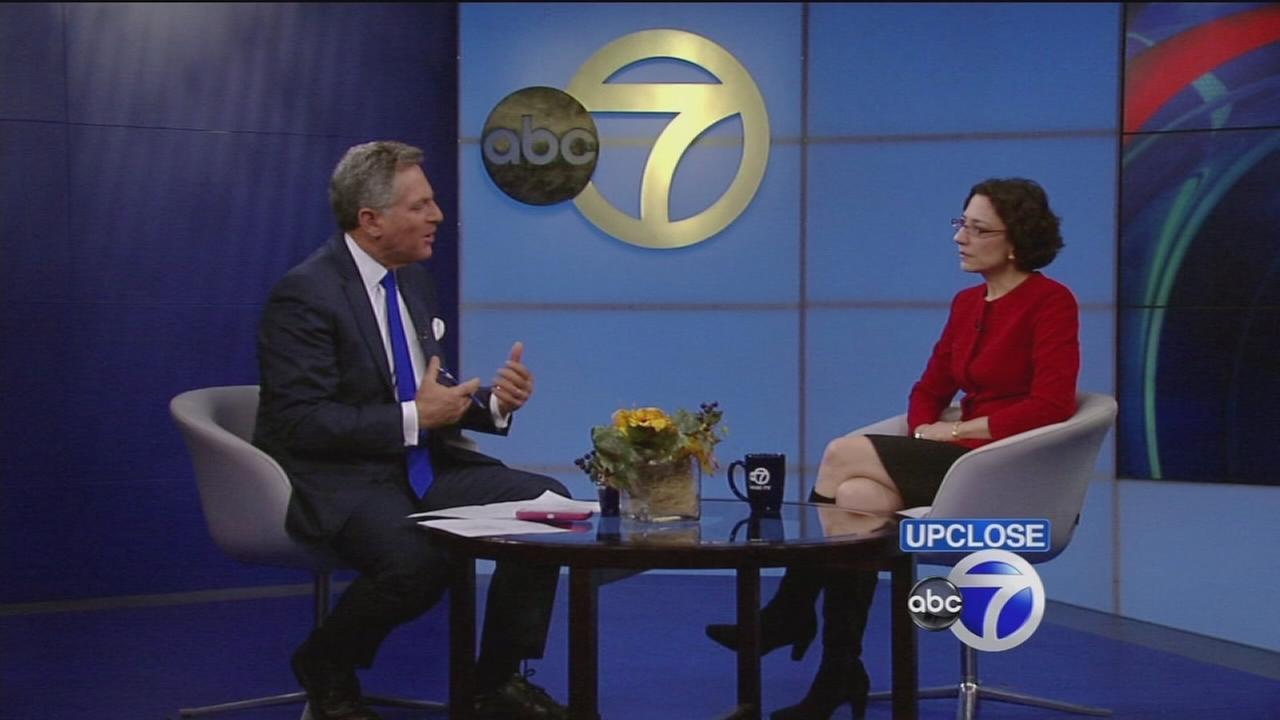 DOT Commissioner Polly Trottenberg talks about pedestrian safety on Up Close