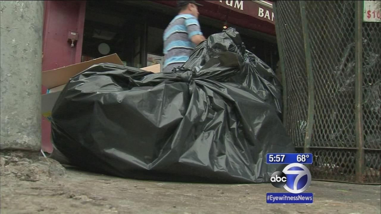 Talking trash: City wants restaurants to clean up open bags of garbage
