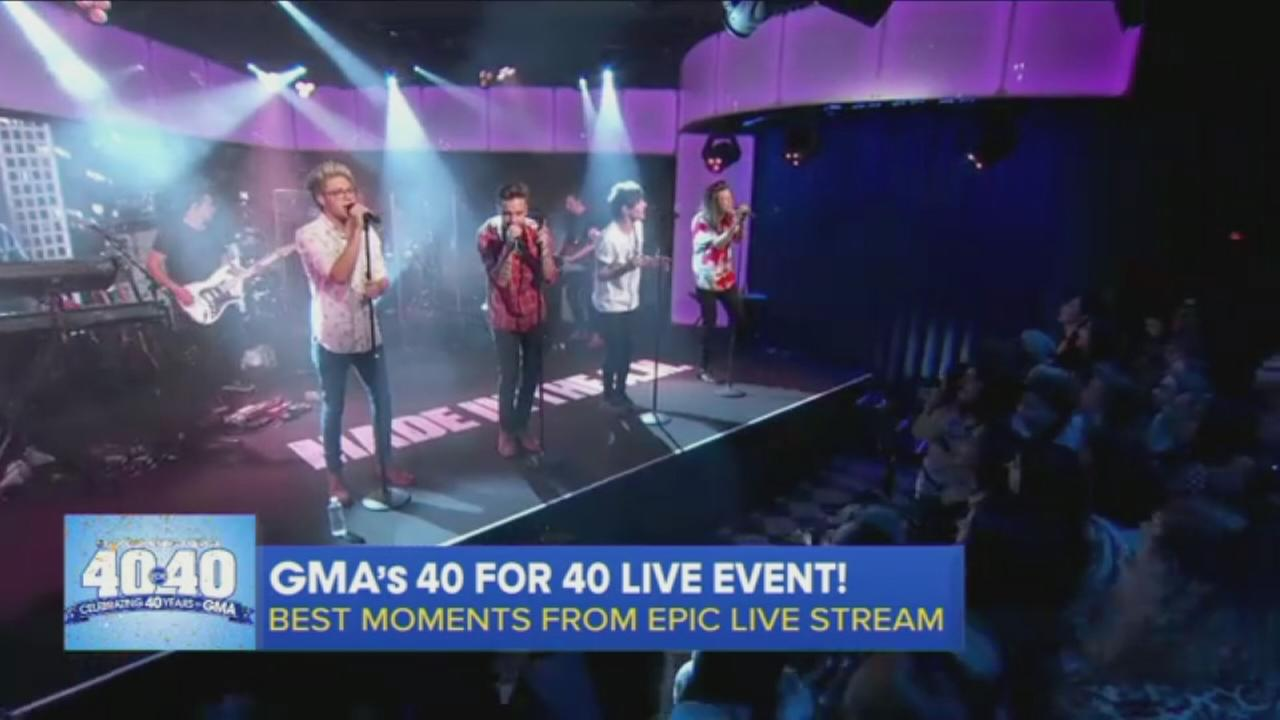 Some of the best moments from GMA 40 for 40