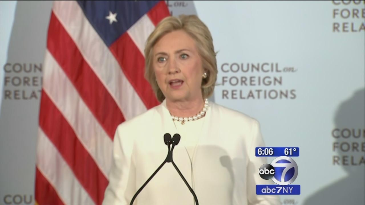 Hillary Clinton: US must push Arab leaders to confront Islamic State