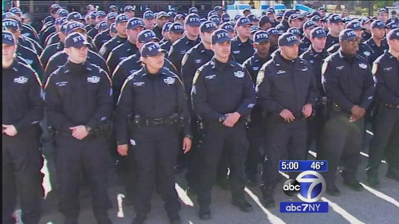 Tight security in NYC as holiday weekend begins