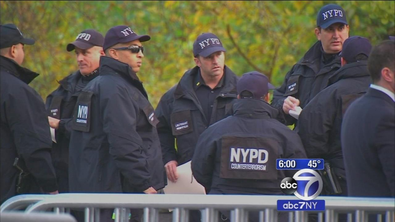 Stepped-up security for Thanksgiving parade