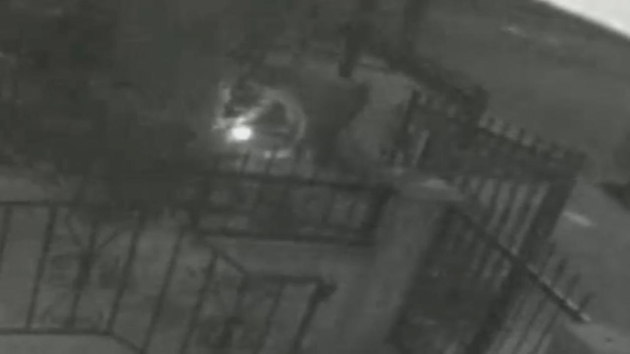 Video of Queens arson suspect