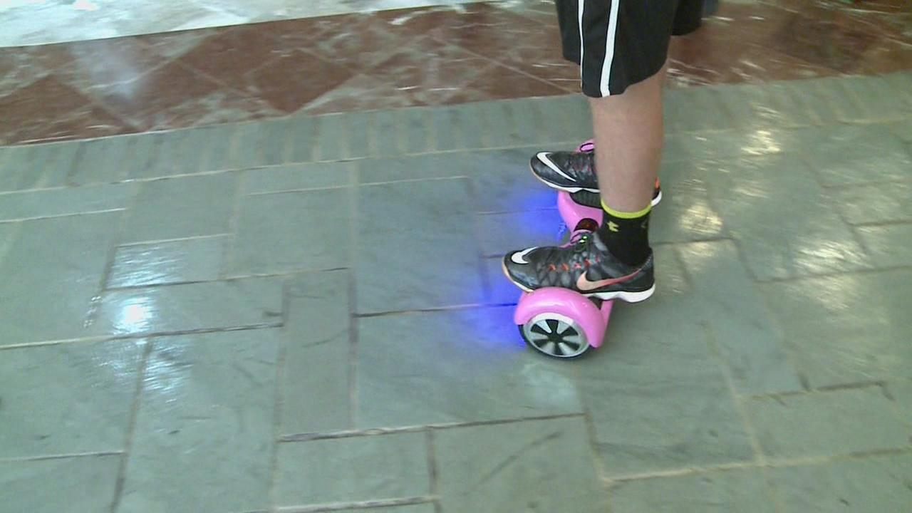 Hot hoverboard gift presents new dangers