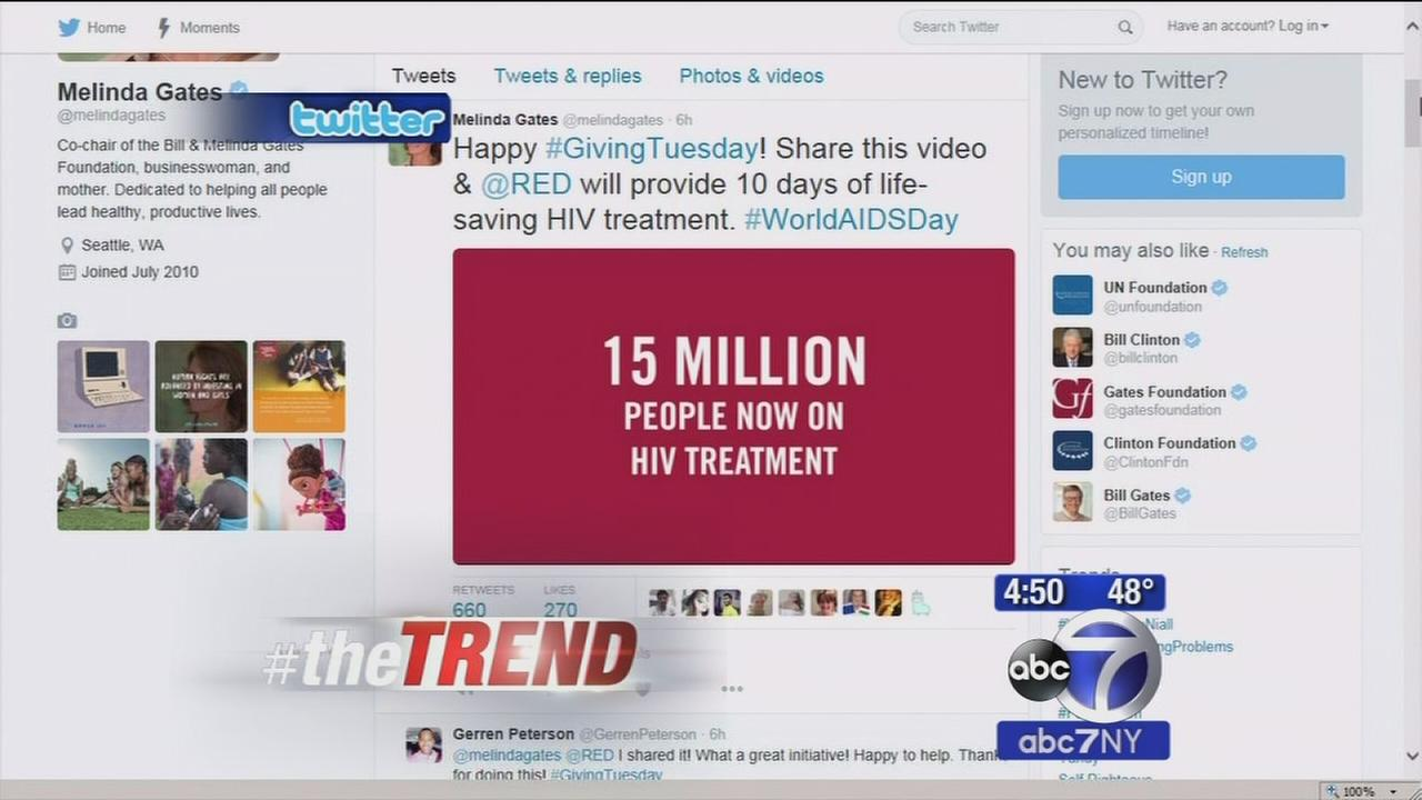 The Trend: Raising awareness about AIDS