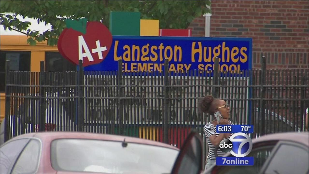 Dad shot outside Brooklyn elementary school