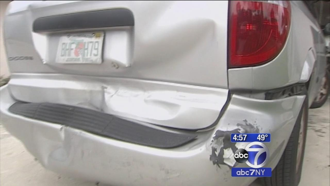 Car auto-dials 911 to report accident after driver allegedly commits hit-and-run