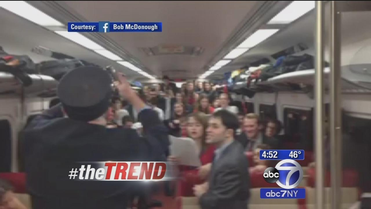 The Trend: Metro-North conductor conducts Yale Glee Club