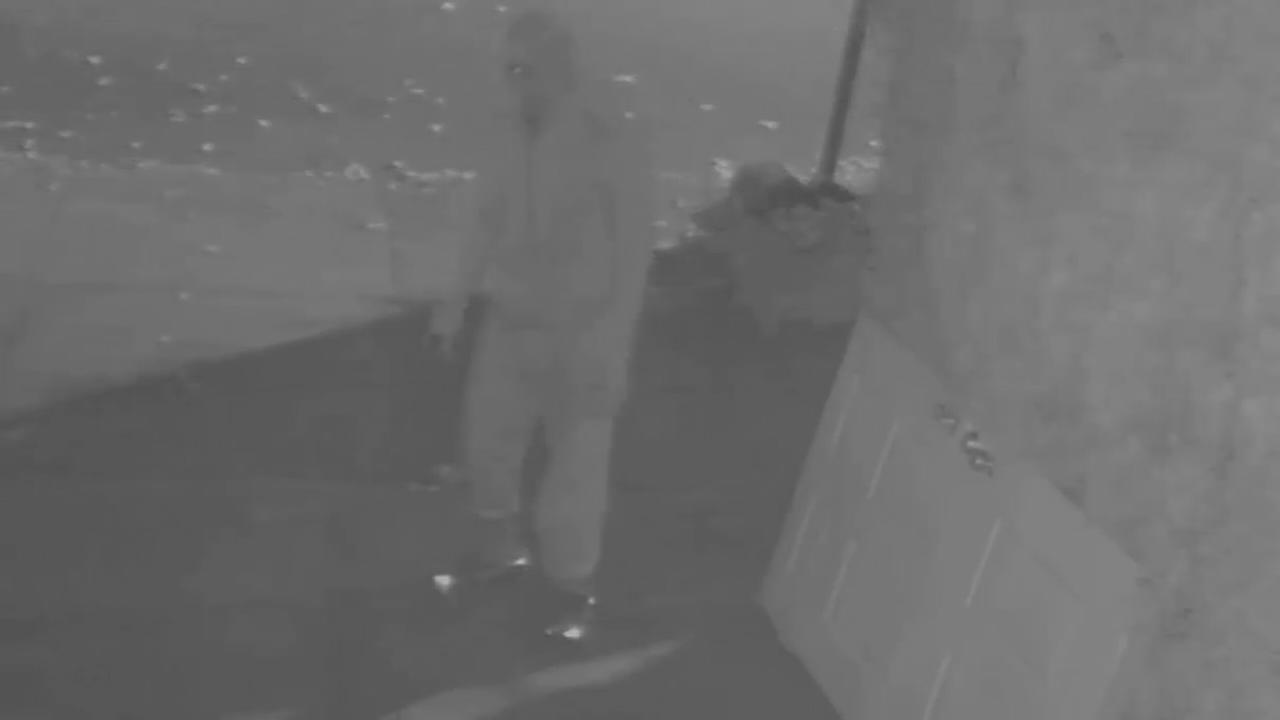VIDEO: Suspected Forest hills arsonist captured on video