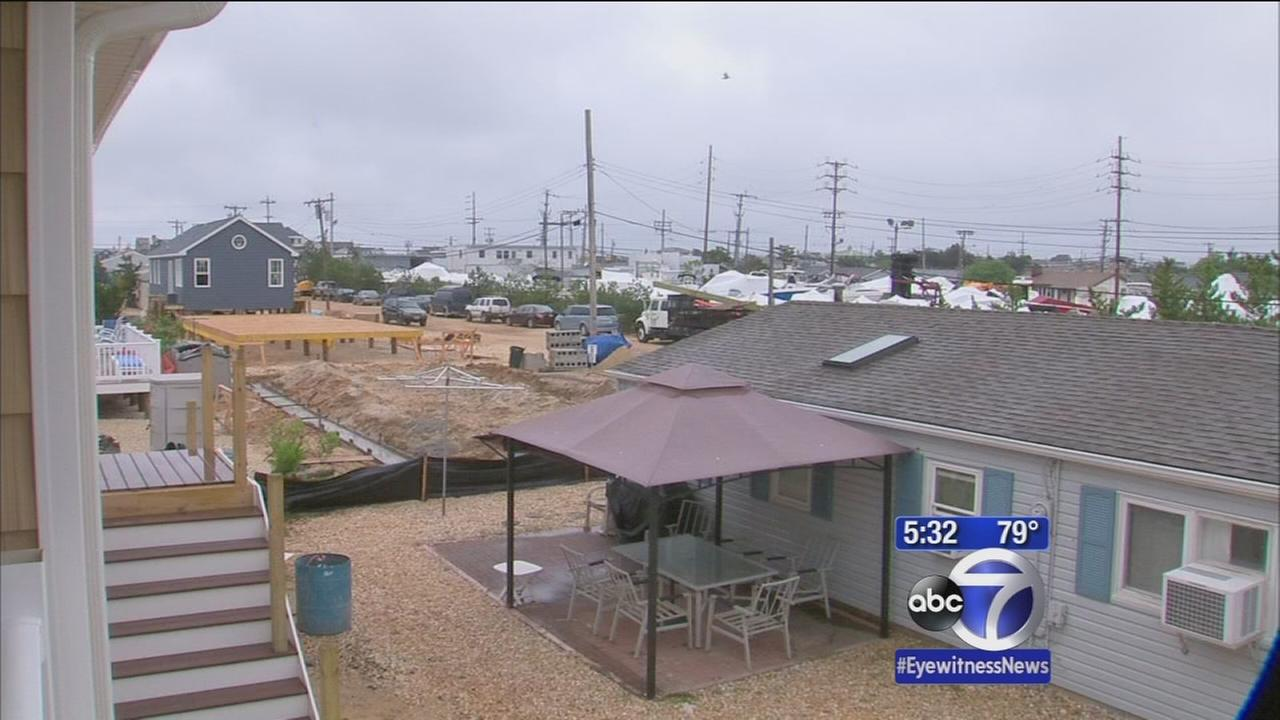 Dozens of Sandy victims told to stop rebuilding for summer