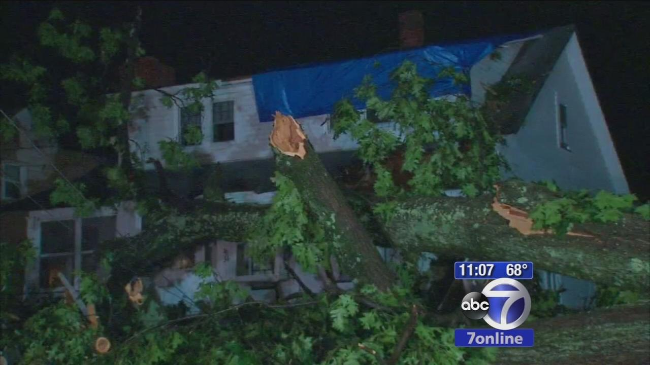 NJ towns clean up after storms hit area