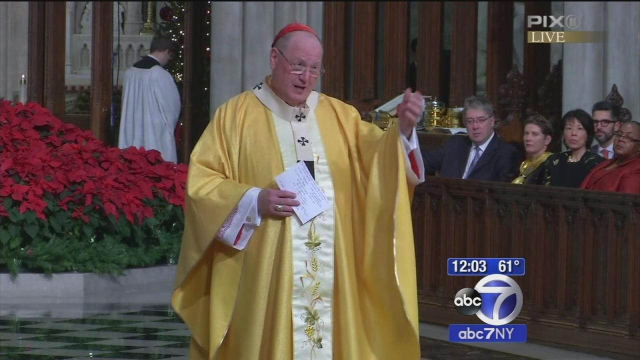 Thousands flock to St. Patricks Cathedral for Christmas Mass