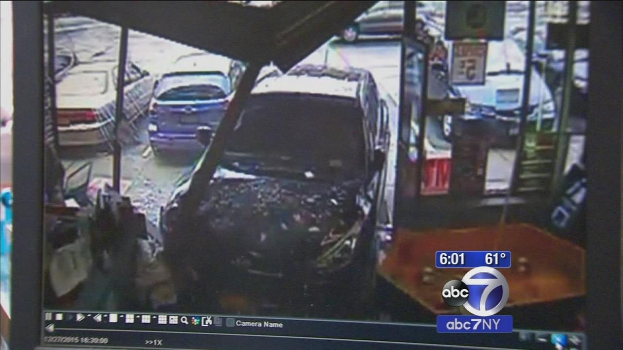Elderly driver crashes into New Rochelle storefront