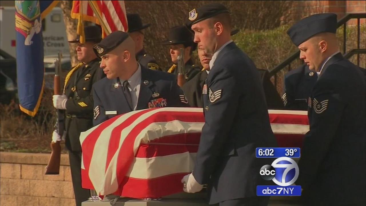 Funeral held for Staff Sgt. Louis Bonacasa, who died in Afghanistan