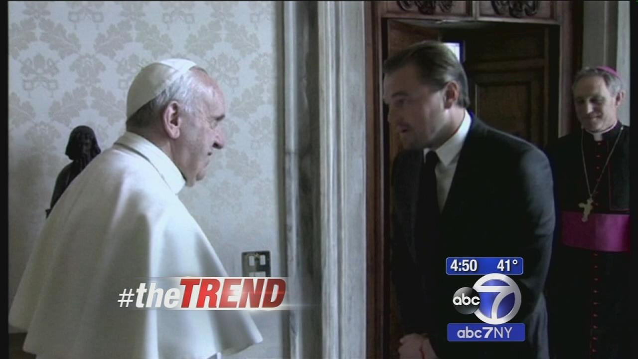 The Trend: Leonardo DiCaprio meets with Pope Francis
