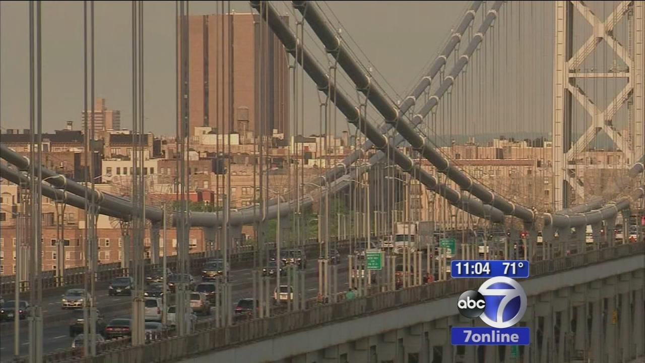 Upper-level GWB lanes close overnight as repairs begin