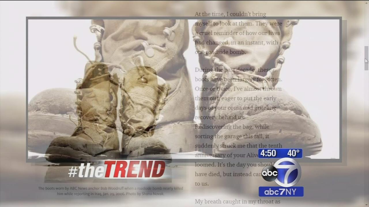 The Trend: Bob Woodruffs wife pens emotional letter