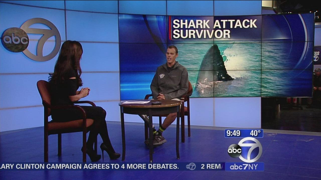 Shark attack survivor inspiring others