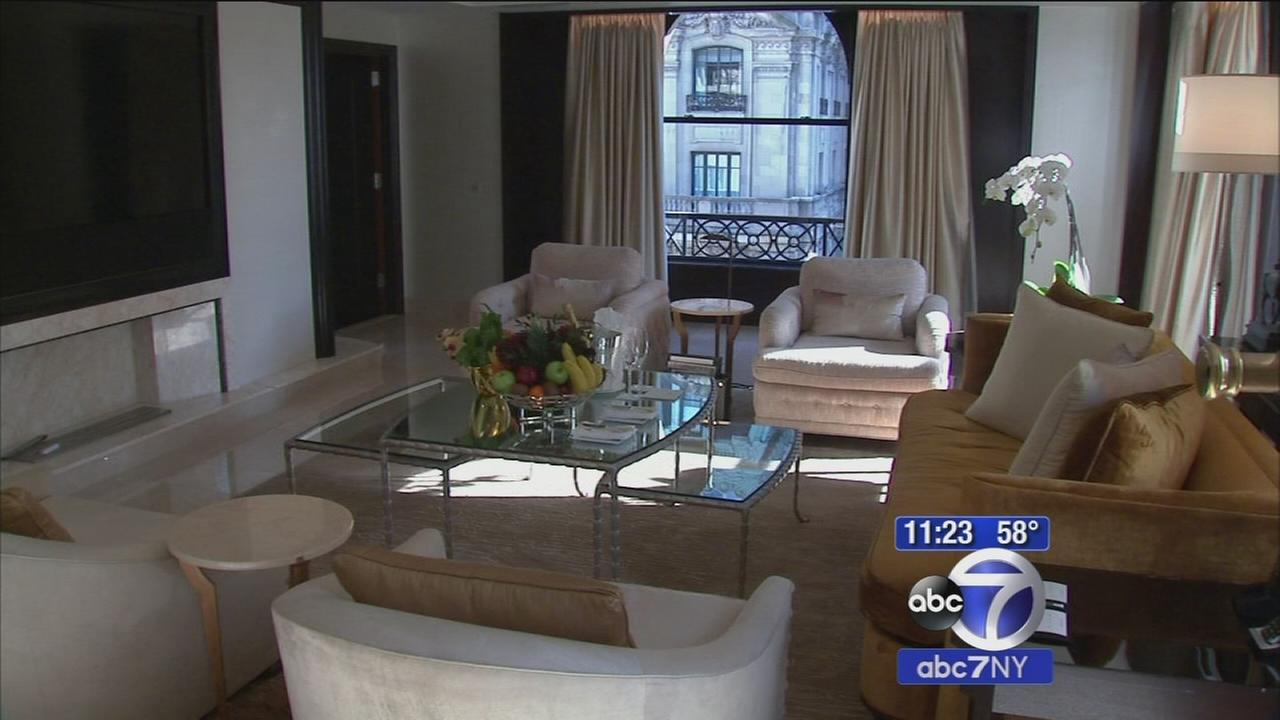 Staying in luxury in New York City