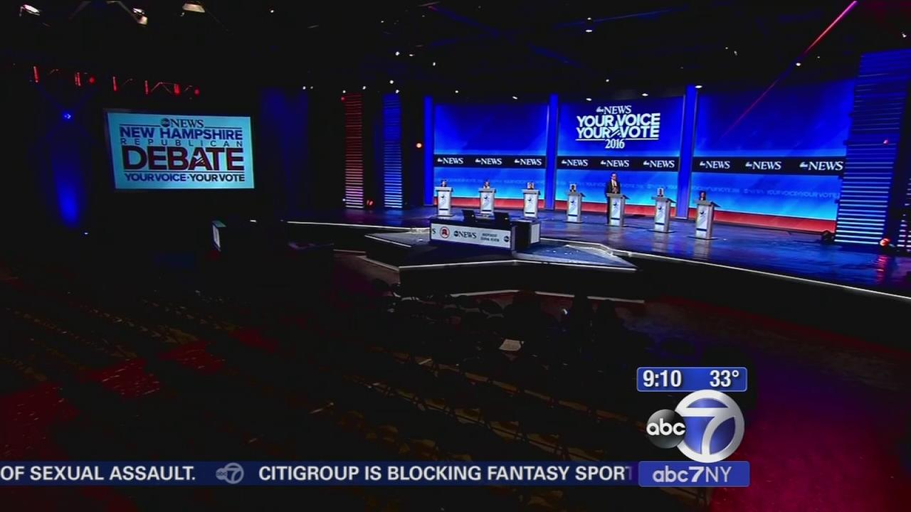 Final GOP debate before New Hampshire tonight