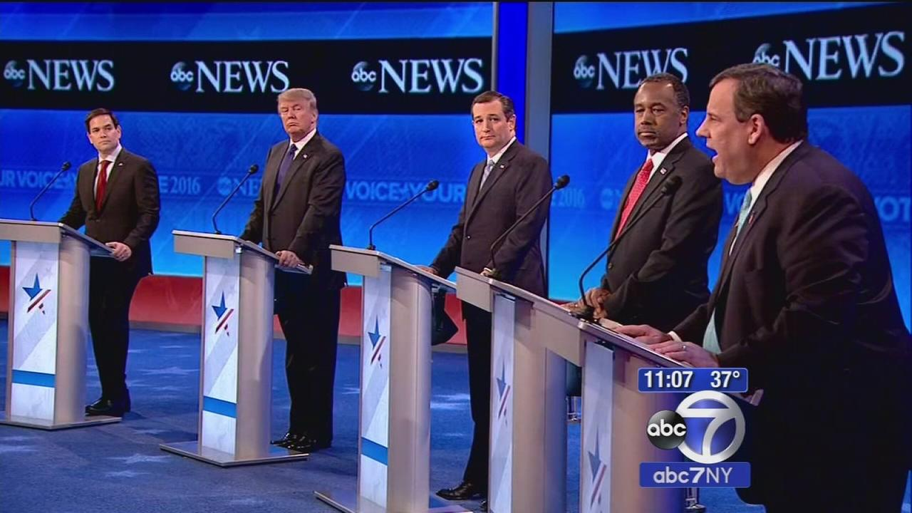 Rubio, Cruz face barrage of attacks in US Republican debate