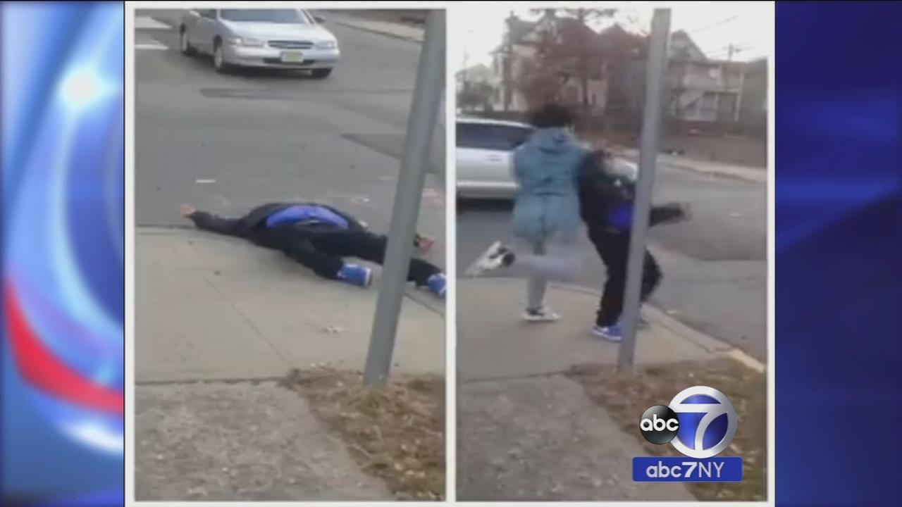 Teen who recored Paterson knockout punch turns himself into police