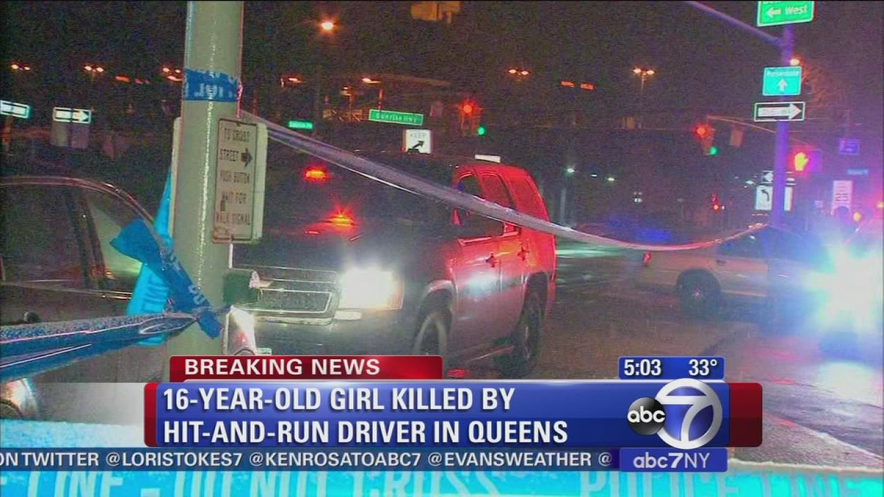 Teen girl killed in Rosedale hit-and-run