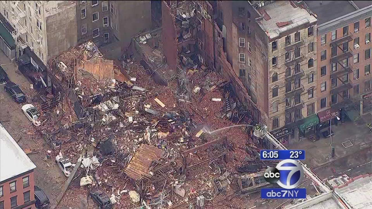 Criminal charges in East Village explosion
