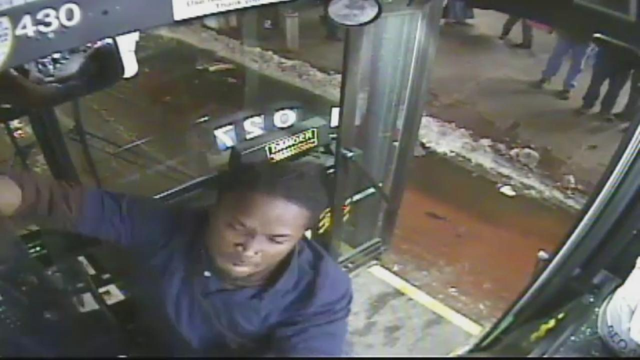 Raw video of Brooklyn assault on bus driver