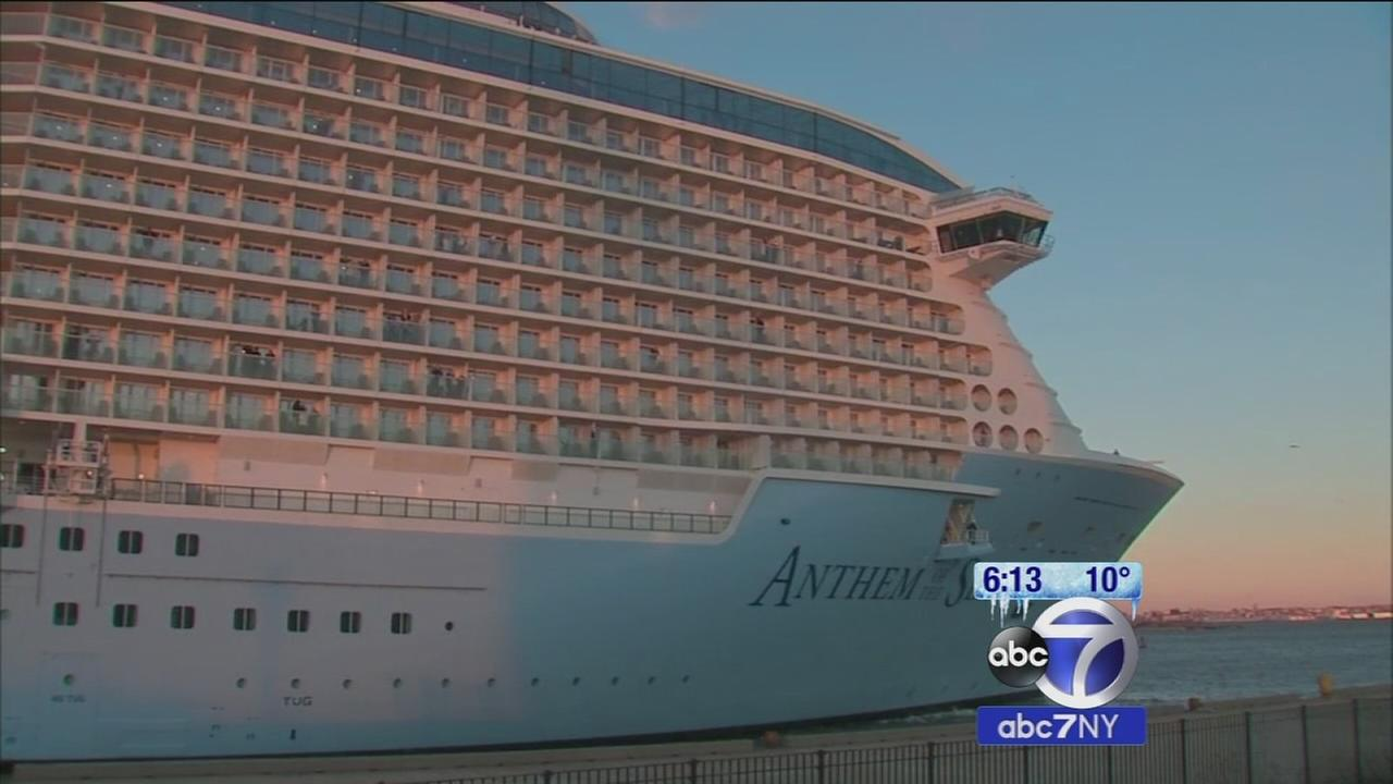 Coast Guard says Anthem of the Seas clear to sail