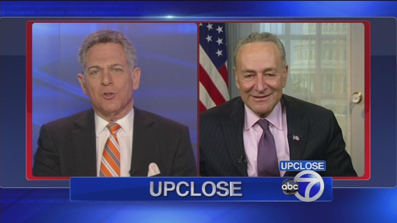 Up Close: Sen. Schumer
