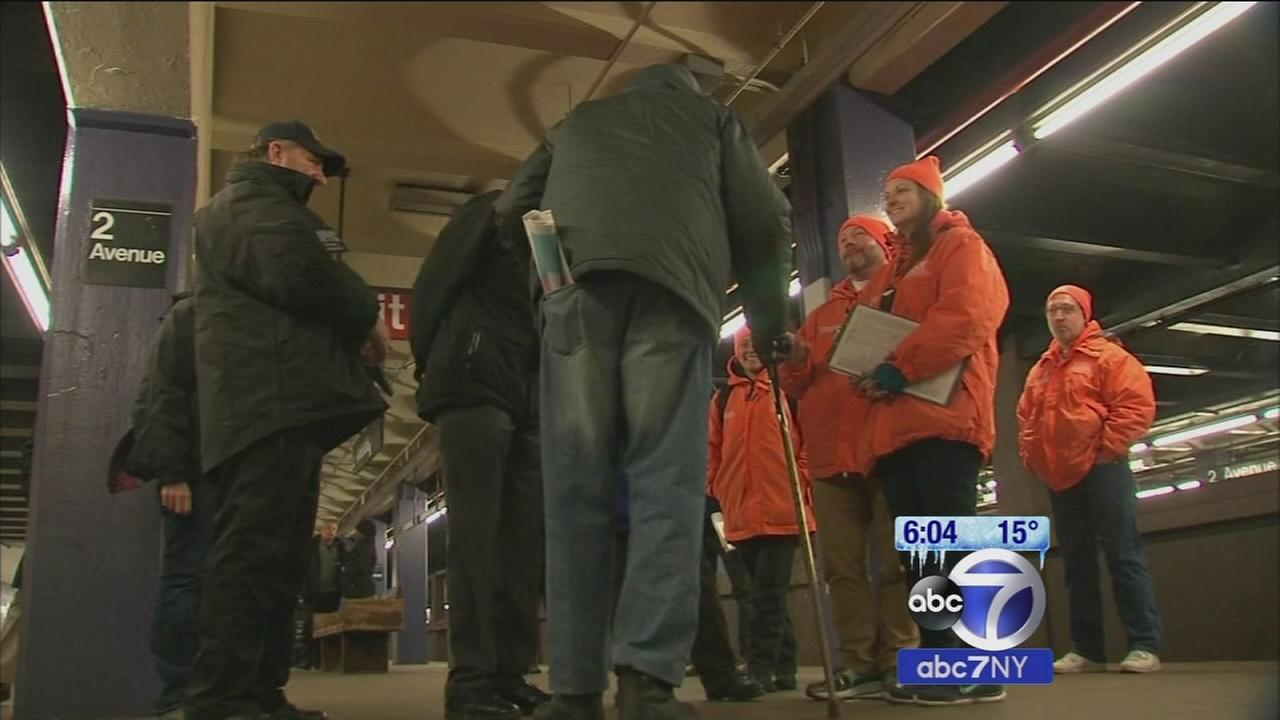 Teams looking to keep the homeless safe in cold temperatures
