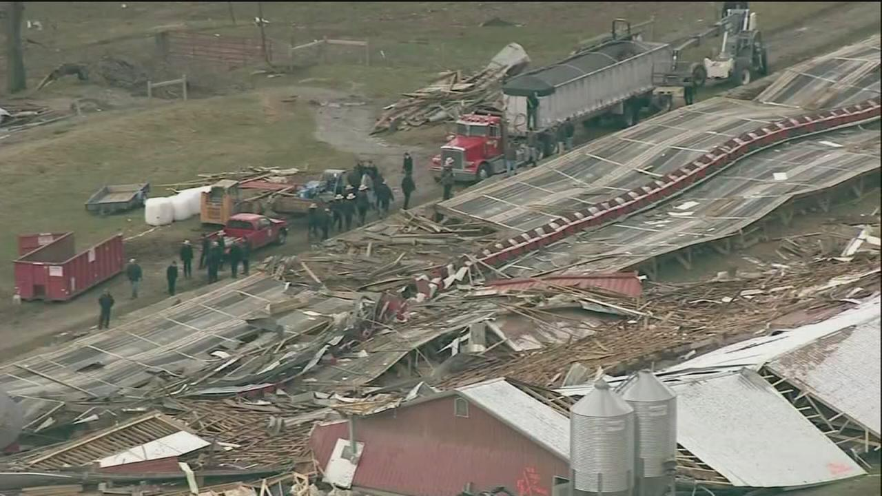 Tornado hit Lancaster County, NWS confirms
