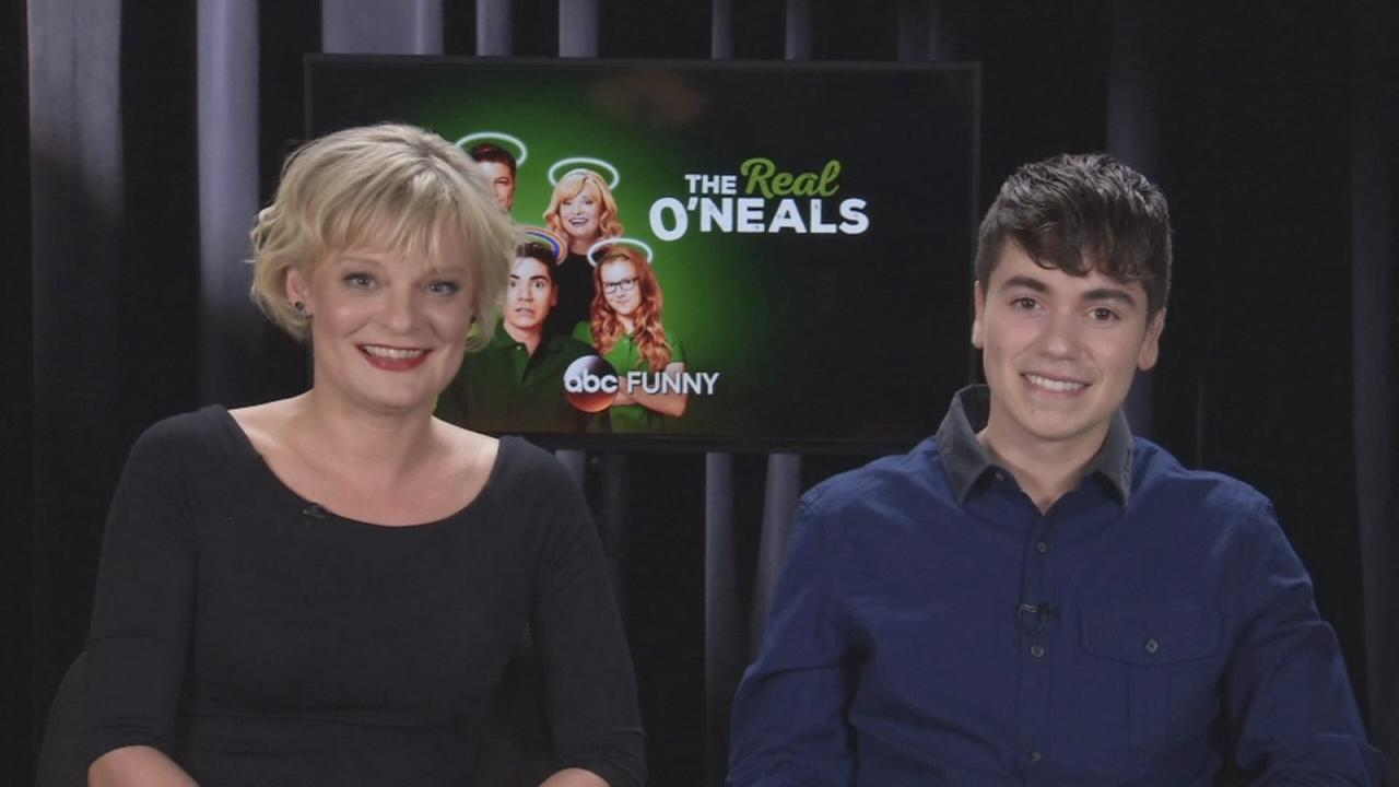 Martha Plimpton and Noah Galvin talk being a part of The Real ONeals