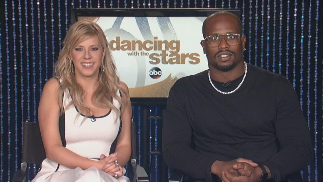 Jodi Sweetin and Von Miller talk about Dancing with the Stars