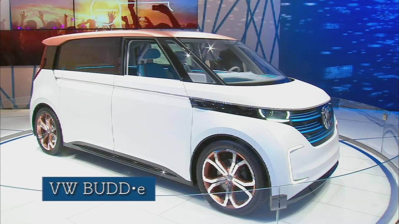Car show: VWs concept car