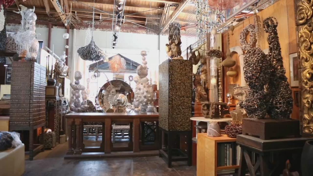 Artist Gives Recycled Materials New Life