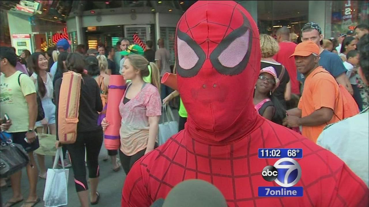 New push to crack down on Times Square costumed characters