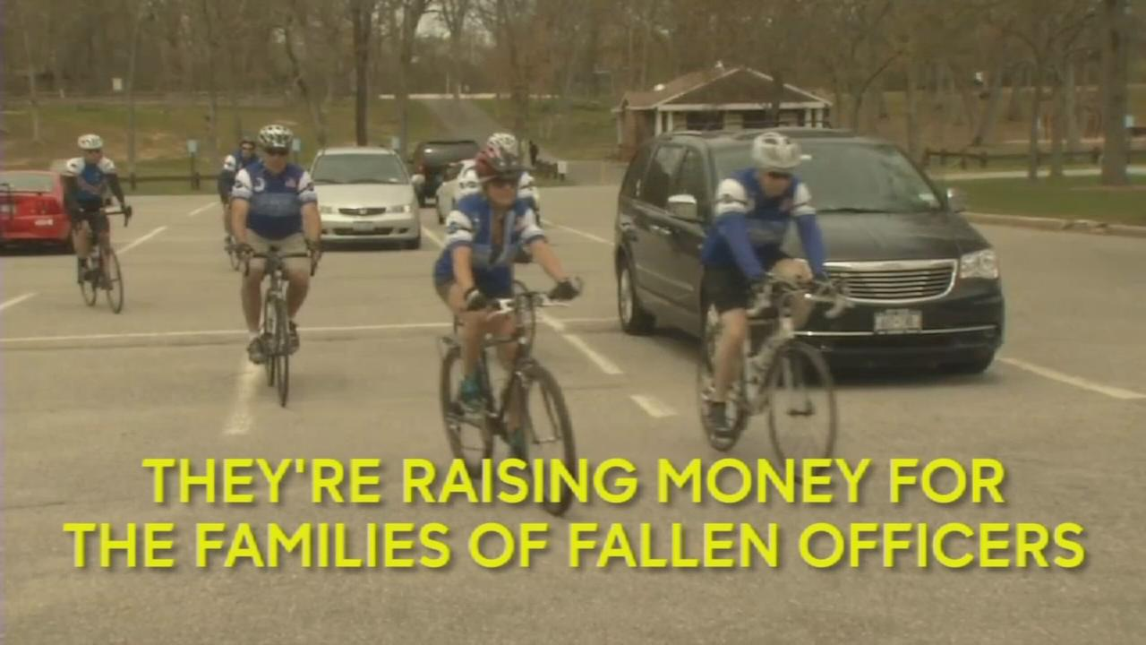 LI cops prepare for charity bike ride