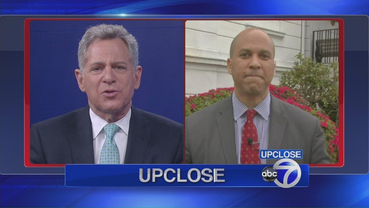 Up Close: Sen. Cory Booker