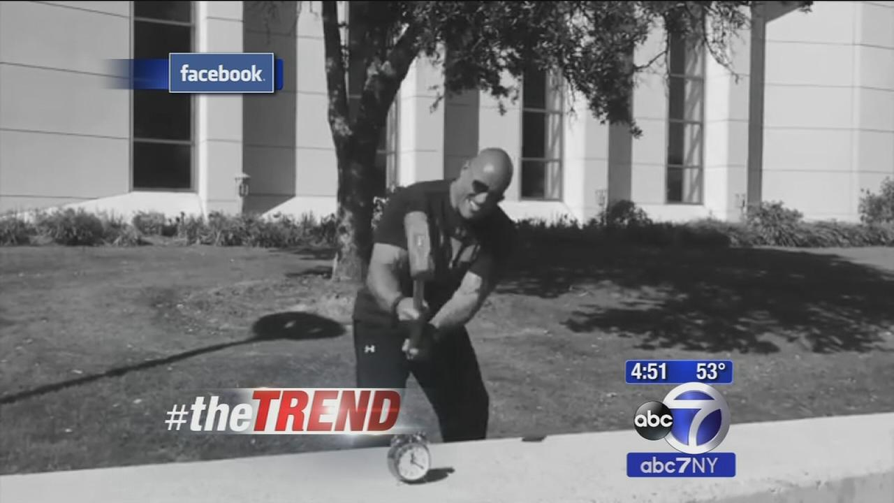 The Trend: The Rock has new alarm clock app