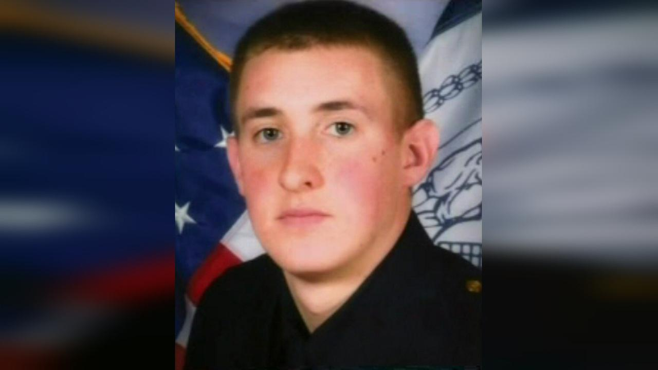Ceremony held for Detective Brian Moore in Plainedge Park on Long Island