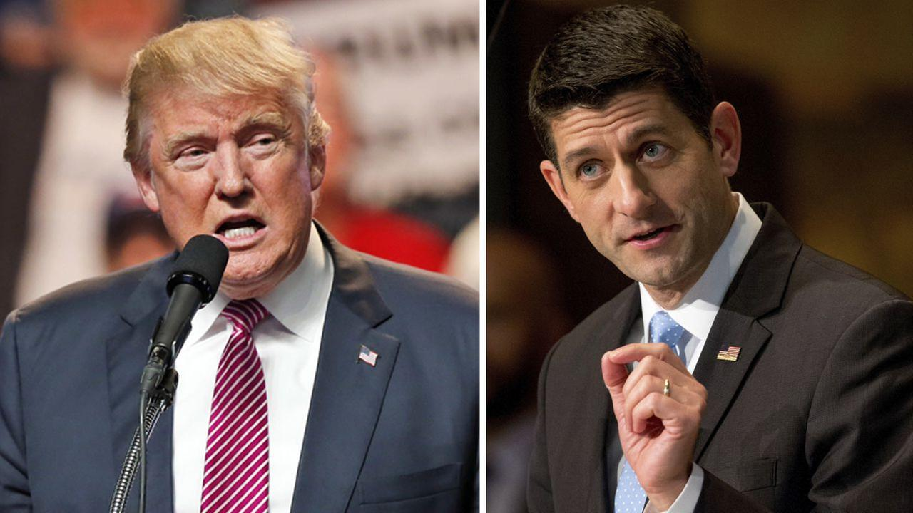Speaker Ryan: 'I'll be voting for' Trump