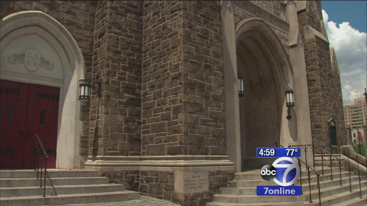 Homeless man brutally beaten in front of a church
