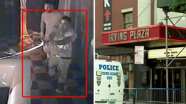 Video captures shooting in Irving Plaza green room